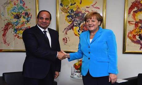 Egyptens president El-Sissi besöker FN och håller ett informationstal  till generalförsamlingen om läget i Egypten.