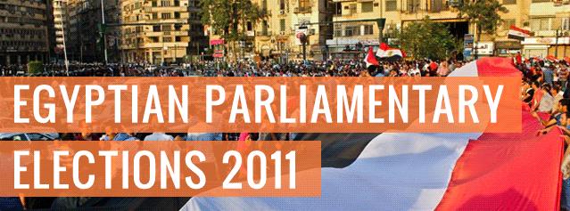 Egypten går till val den 28/11 2011!