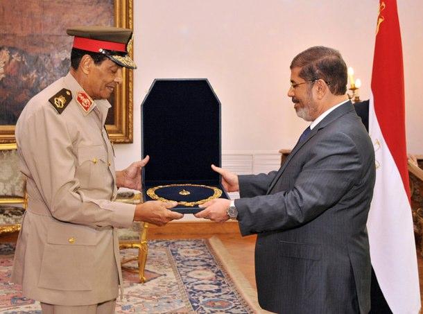 Tystnad från Egyptens armé