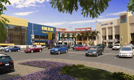 Gigantiskt IKEA-varuhus invigt utanför Kairo