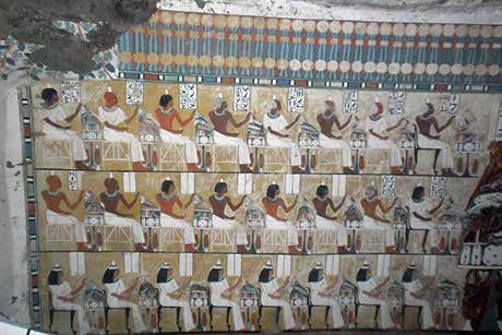Nya gravfynd i Luxor