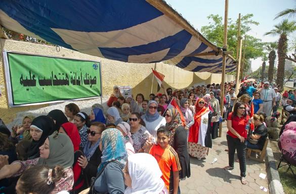 Nu är presidentvalet igång i Egypten!
