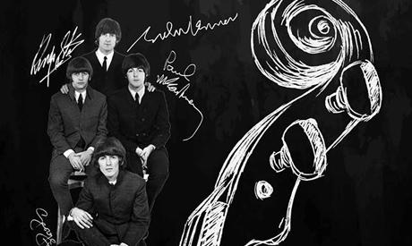 Beatles-melodier framförs i Kairos Operahus.