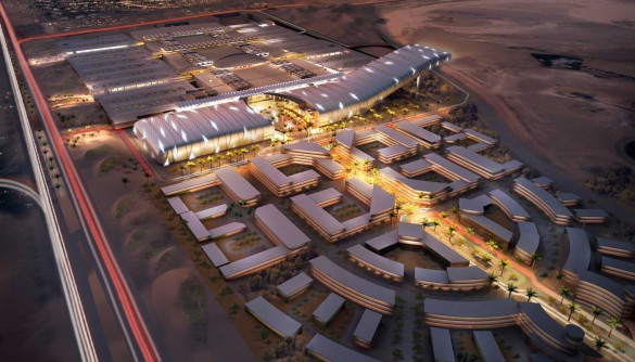 Gigantiska shopping-gallerian Mall of Egypt invigs den 2 mars 2017